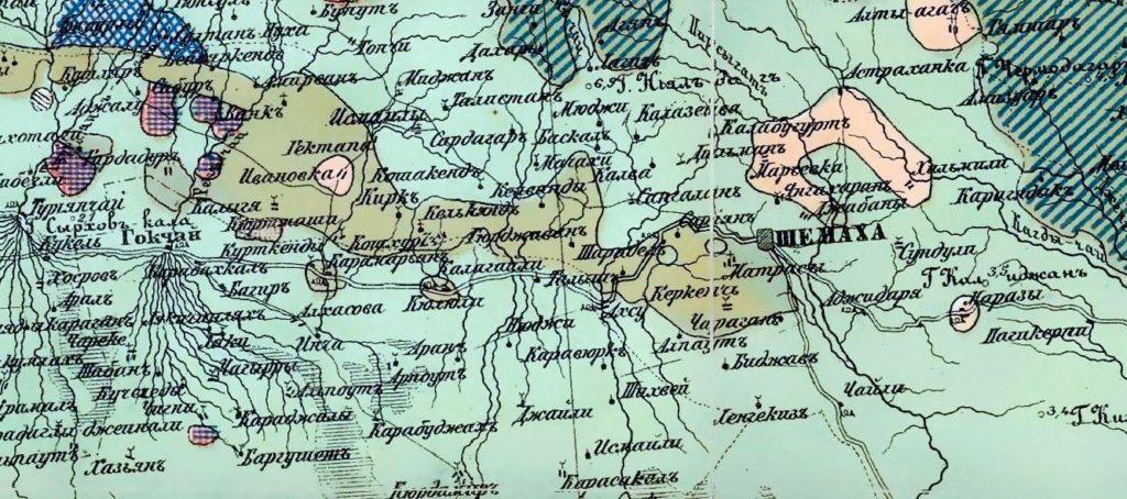 Karabakh Ethnography, Circa 1880.