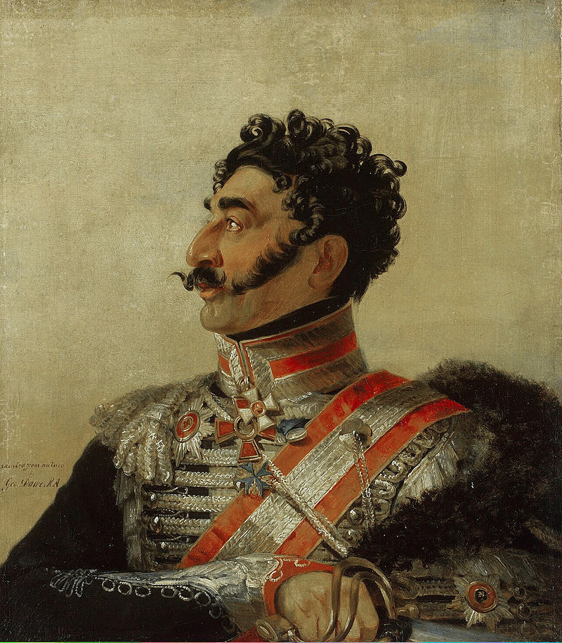 Russian general and Karabakh-born Armenian Valerian Madatov as painted by George Dawe in 1820.
