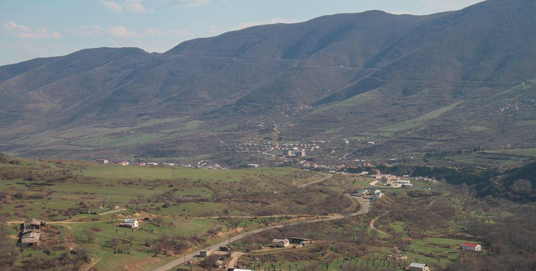 A Karabakh view by Gevorg Haroyan for Civilnet.