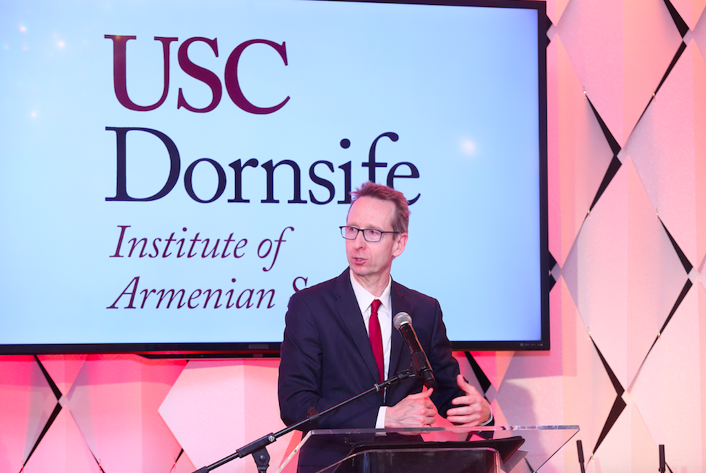 USC Institute of Armenian Studies Convenes an Evening of Appreciation.