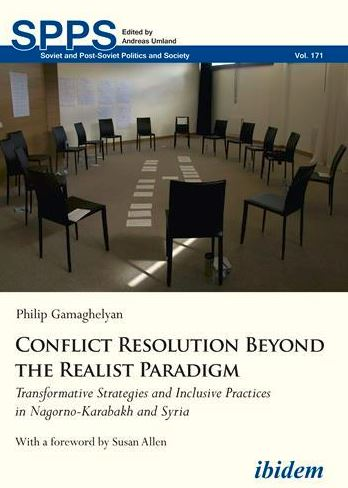 New Work on Karabakh Conflict Resolution Practices.