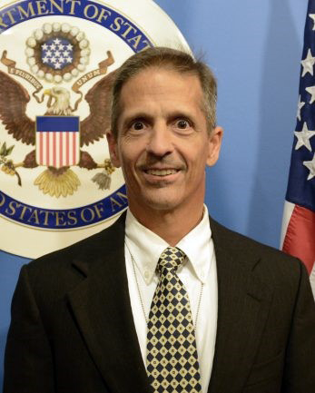 U.S. envoy at the OSCE Gregory Macris. Official photo.