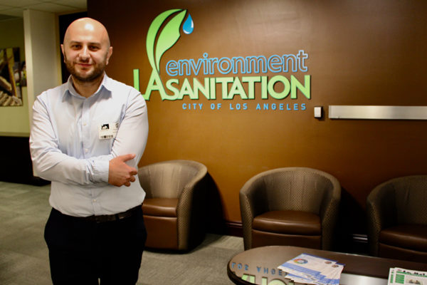 USC Policy Fellow From Armenia at Environment LA Sanitation City of Los Angeles