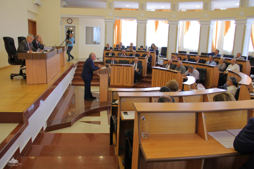 Nagorno Karabakh parliament in session. Courtesy image