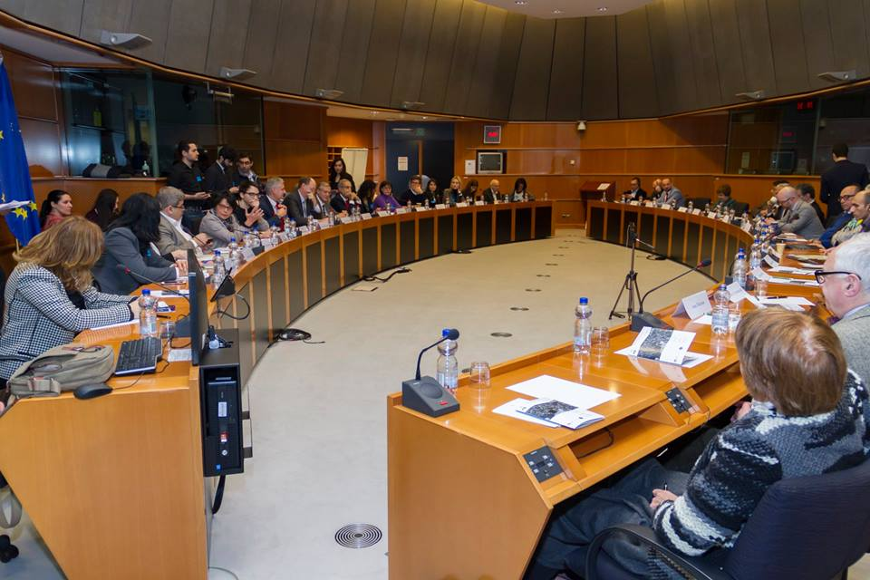 The European Parliament roundtable on Feb. 27. Photo from eafjd.eu