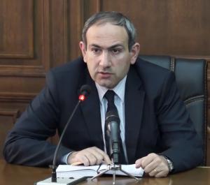 Nikol Pashinyan. Wikimedia