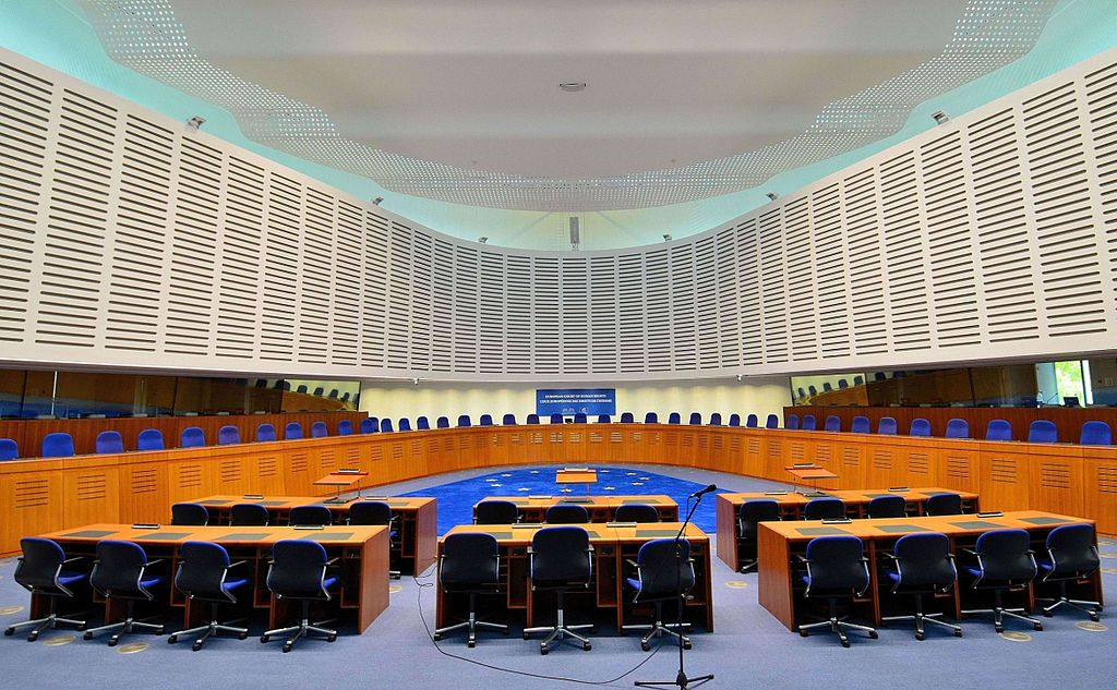 The European Court for Human Rights. Photo by Adrian Grycuk, Wikimedia