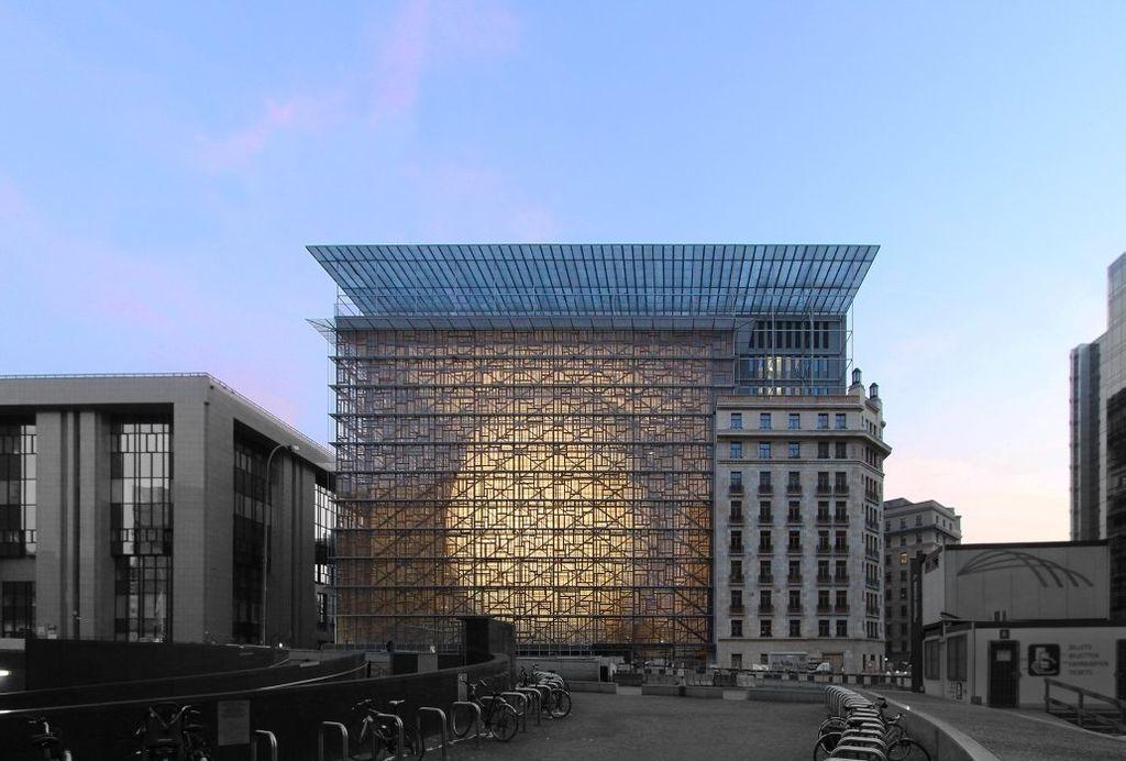 The Europa building in Brussels. Wikimedia