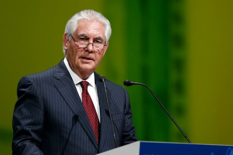 Rex Tillerson also known as T-Rex. Image courtesy of Trump transition team