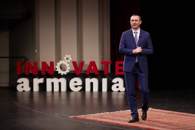 Armen Grigoryan at USC Innovate Armenia
