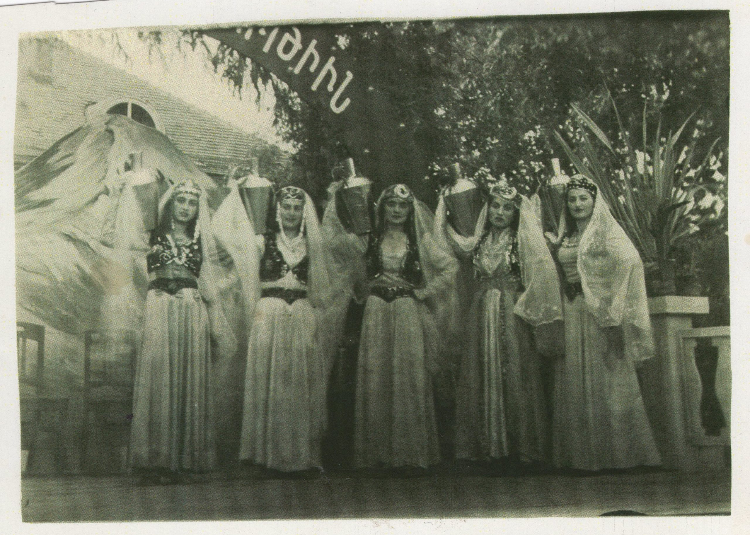 Makarian's dance ensemble, Germany, 1948